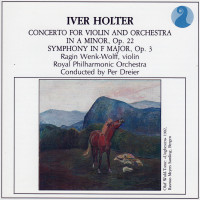 Iver Holter Violin Concerto CD cover 1